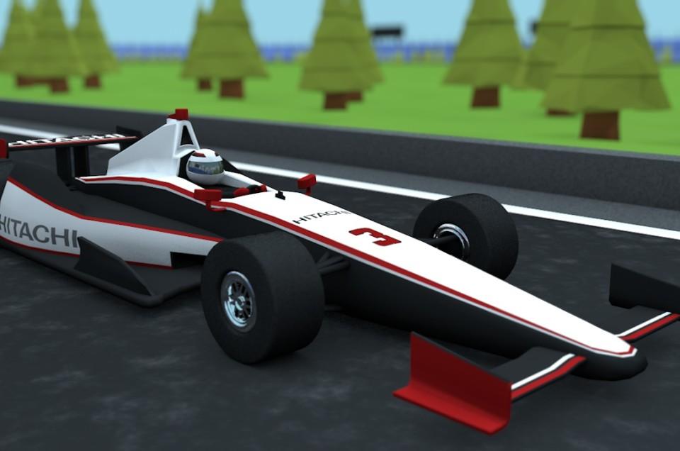 Hitachi Race Car